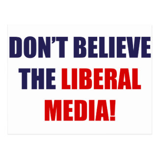 Liberal Media Postcard