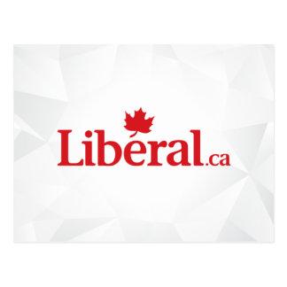 Liberal Party Liberal.ca Logo Postcard
