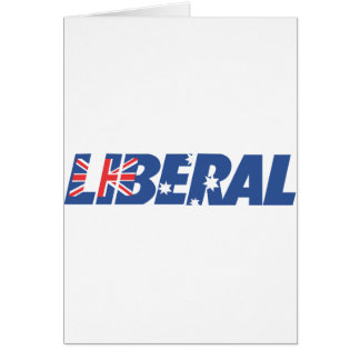 Liberal Party of Australia Greeting Card