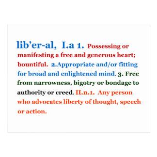Liberal Postcard