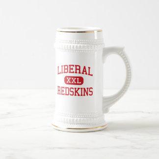 Liberal - Redskins - High School - Liberal Kansas Beer Stein