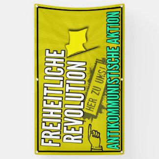 Liberal revolution banner