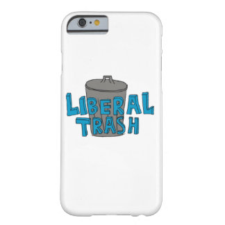 Liberal Trash Blue Lettering Phone Case