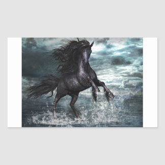 Liberale Horse Rectangular Sticker