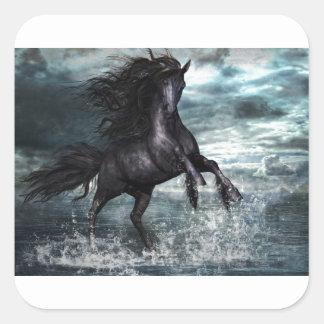 Liberale Horse Square Sticker