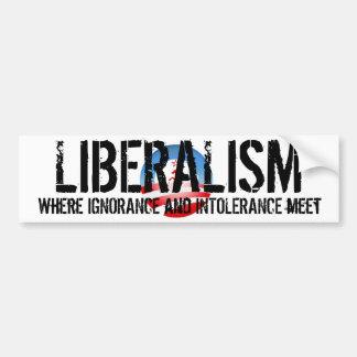 Liberalism Bumper Sticker
