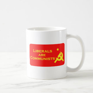 Liberals are Commies Basic White Mug