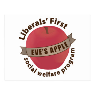 Liberals' First Social Welfare Program Postcard