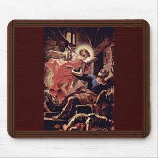 Liberation Of Saint Peter By An Angel By Ricci Mouse Pad
