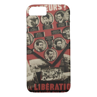 Liberation Propaganda Poster iPhone 7 Case