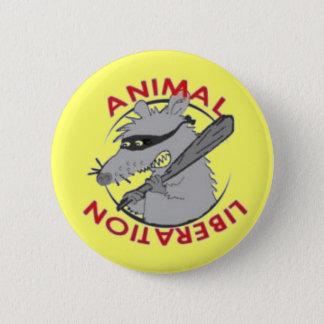 Liberation Rat 6 Cm Round Badge