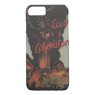liberators Propaganda Poster iPhone 7 Case
