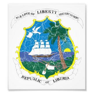 Liberia Coat Of Arms Photo Print