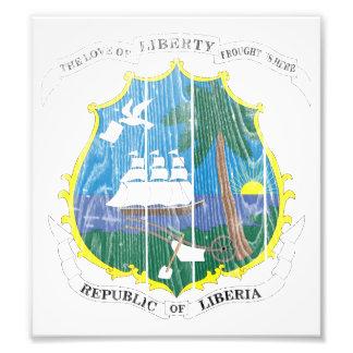 Liberia Coat Of Arms Art Photo