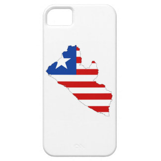 liberia country flag map shape symbol iPhone 5 covers