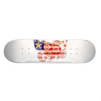 Liberia Flag 19.7 Cm Skateboard Deck