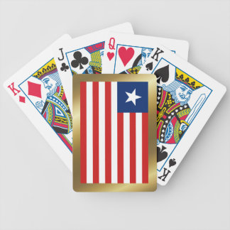 Liberia Flag Playing Cards