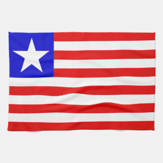 Liberia Flag Tea Towel