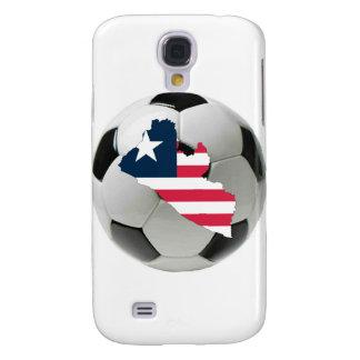 Liberia football soccer galaxy s4 case