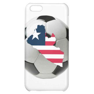 Liberia football soccer iPhone 5C cases