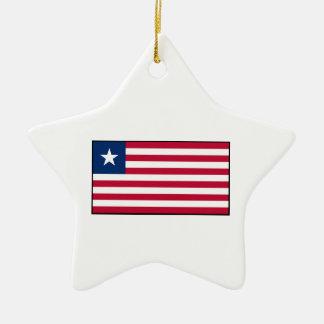Liberia – Liberian Flag Christmas Tree Ornaments