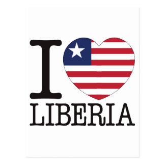 Liberia Love v2 Postcard