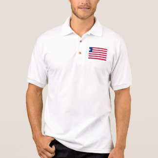 liberia polo shirt
