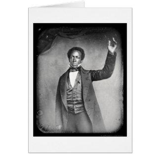 Liberian Ed J Roye Daguerreotype 1856 Card