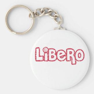 Libero Volleyball Key Ring