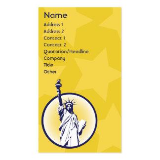 Libertarian - Business Business Card Template