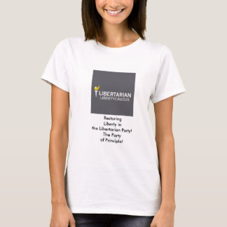 Libertarian Liberty Caucus Basic Women's T-Shirt