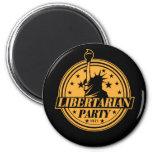 Libertarian Party 1971 6 Cm Round Magnet