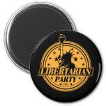 Libertarian Party 1971 Fridge Magnet