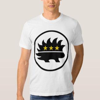Libertarian Party Gold Star Porcupine Shirt