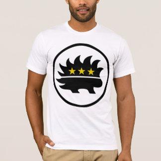 Libertarian Party Gold Star Porcupine T-Shirt