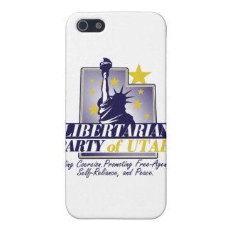 Libertarian Party of Utah Logo Cover For iPhone 5