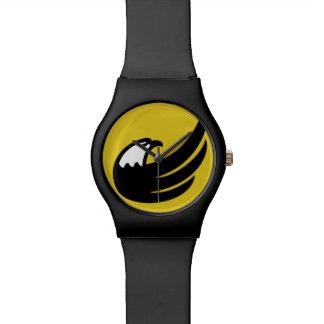 Libertarian Party Torch Eagle USA American Wrist Watch