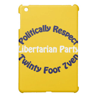 Libertarian Party - Twinty Foor 7ven Cover For The iPad Mini