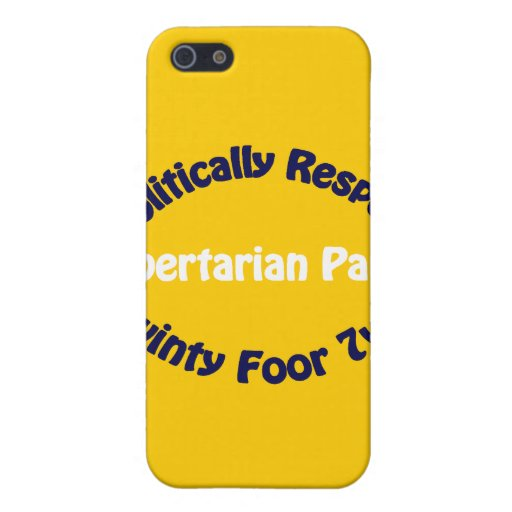 Libertarian Party - Twinty Foor 7ven iPhone 5 Cases