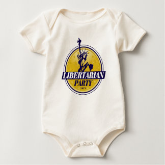 Libertarian Political Party Logo Baby Bodysuit
