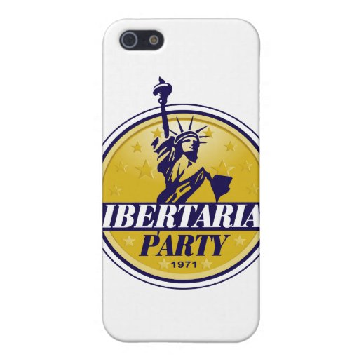 Libertarian Political Party Logo Cover For iPhone 5