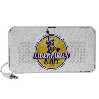 Libertarian Political Party Logo Mp3 Speaker