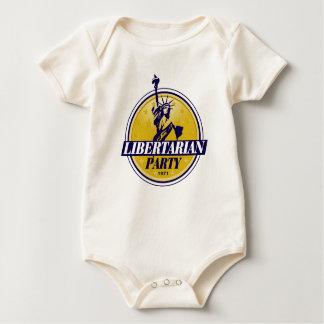 Libertarian Political Party Logo Bodysuits