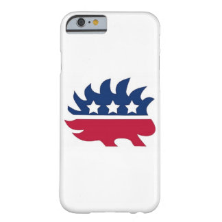 Libertarian Porcupine Barely There iPhone 6 Case