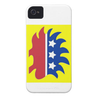 Libertarian Porcupine iPhone 4 Cover