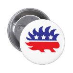 libertarian porcupine pins