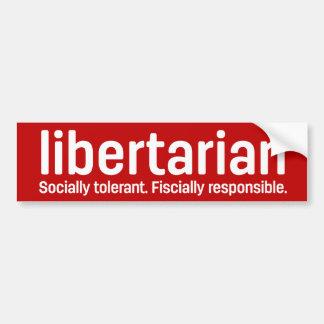 Libertarianism Bumper Stickers