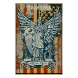 Libertas Goddess of Liberty Poster
