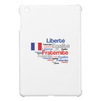 Liberté, Égalité, Fraternité - French Motto Flag iPad Mini Covers