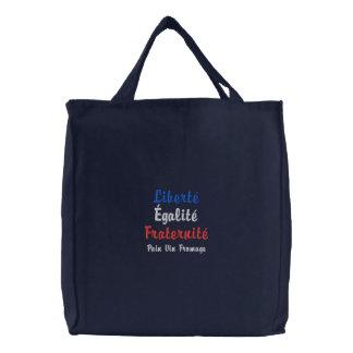 Liberté, Égalité, Fraternité Pain Vin Fromage Bag